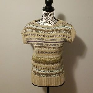 The Limted Knit short sleeve sweater